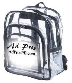Looking for an extra large  clear backpacks with two side pockets. Look no further this is the best seller