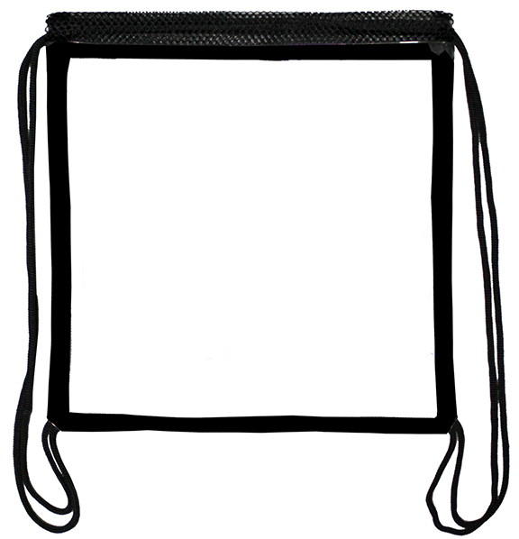 12 x 12 clear sling, NFL / PGA approved clear sling backpack.