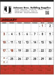 Contractor Wall Calendar-Construction Promotional Calendars