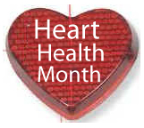 Heart Health Month-Raise Awareness.