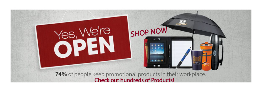 74 percent of people keep promotional products in their workplace.