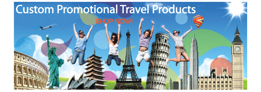 Custom Travel Promotional Products.