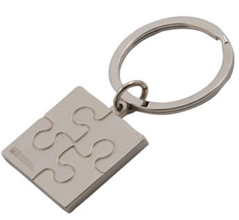 Custom Printed Autism Awareness Key Tag