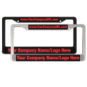 Custom Printed Licence Plates Frames