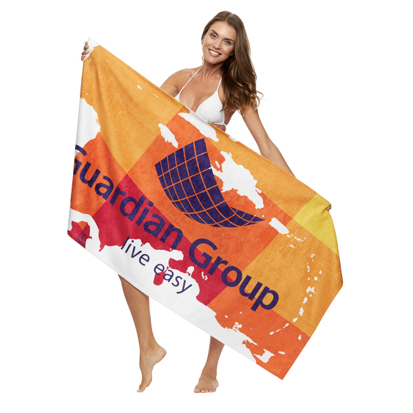 "Full-Color 30"" x 60"" Beach Towel"